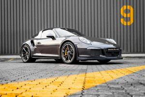 Porsche 911 Targa 4 GTS. Тюнинг от Mcchip-DKR