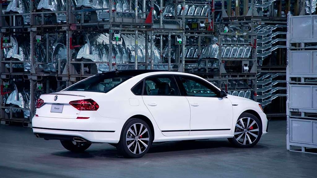 Новый Volkswagen Passat GT 2018