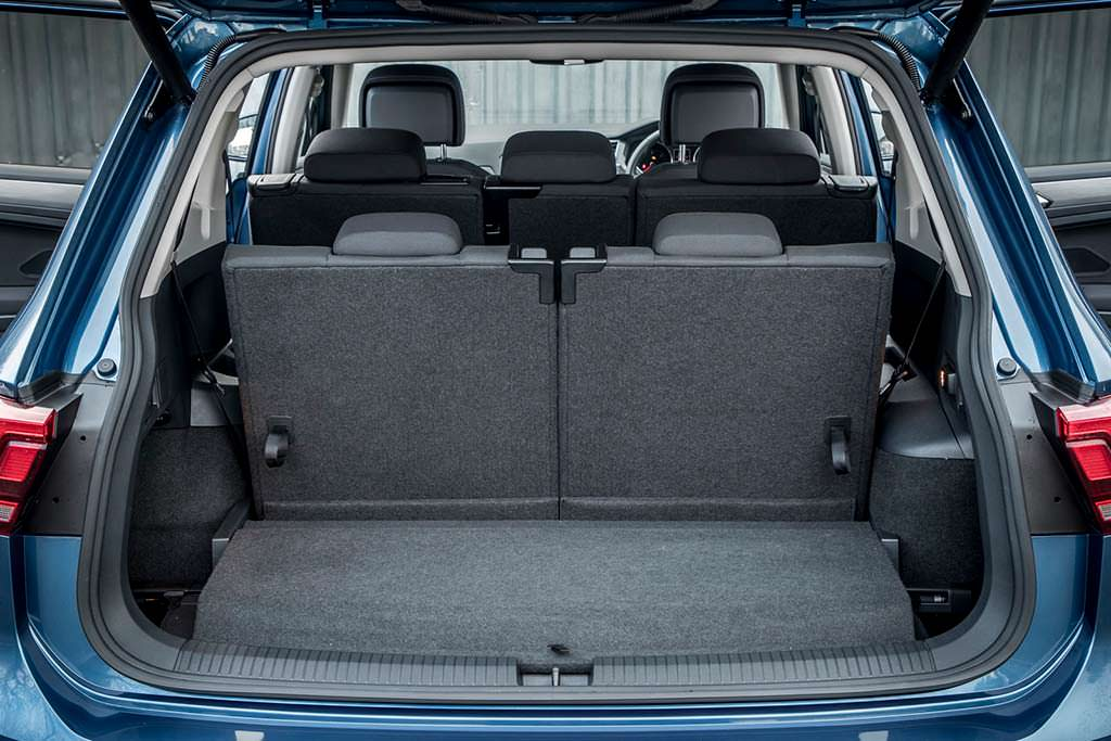 Конфигурации багажника Volkswagen Tiguan Allspace