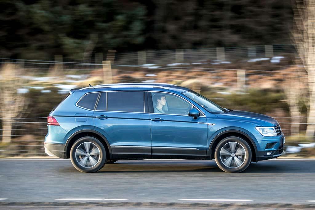 Длиннобазный Volkswagen Tiguan Allspace 2018