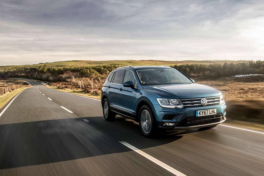Праворульный Volkswagen Tiguan Allspace 2018