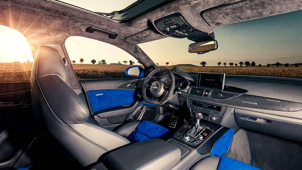 Фото внутри Audi RS6 Avant Performance Nogaro Edition