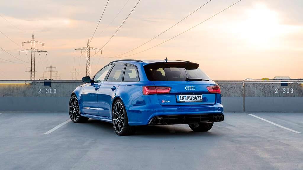 Самый быстрый универсал Audi RS6 Avant Performance Nogaro