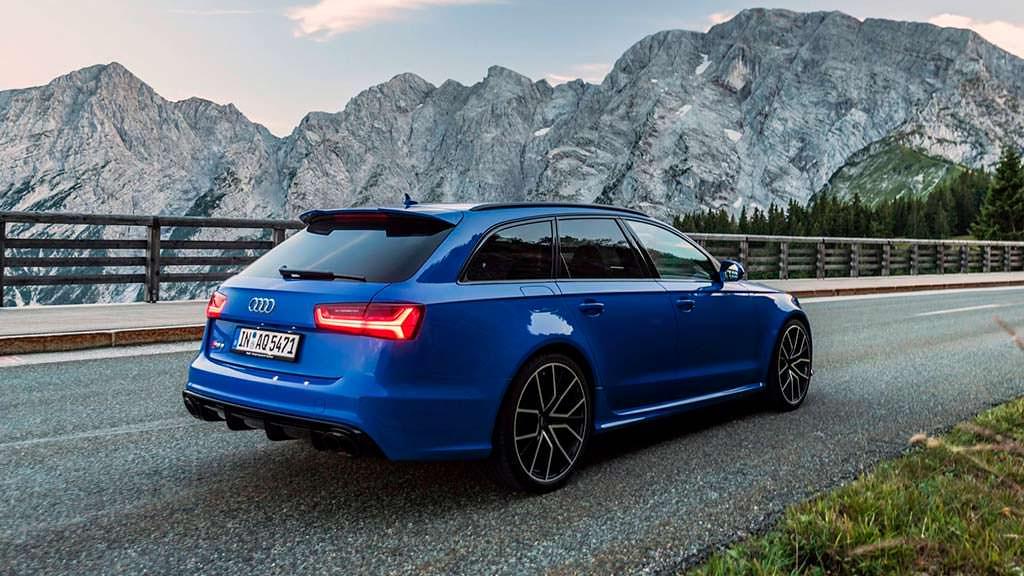 Самый мощный универсал Audi RS6 Avant Performance Nogaro