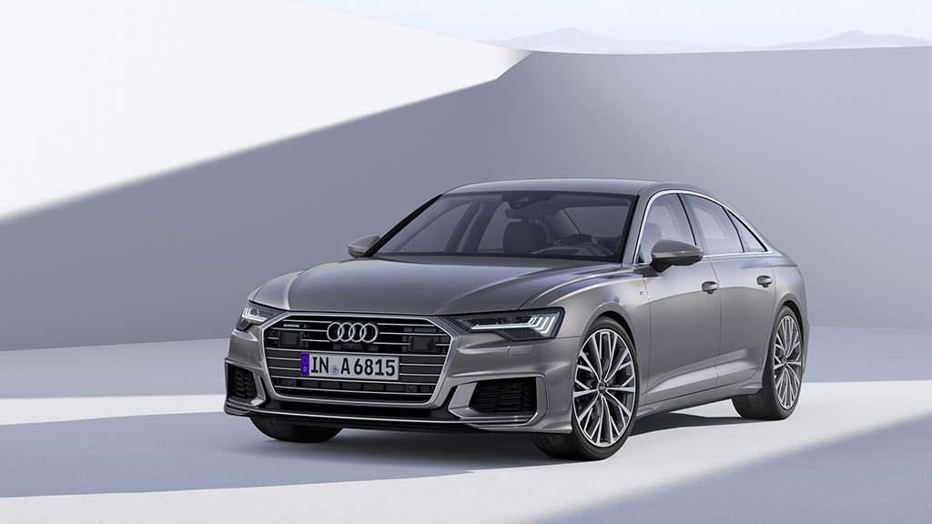 Седан Audi A6 нового поколения