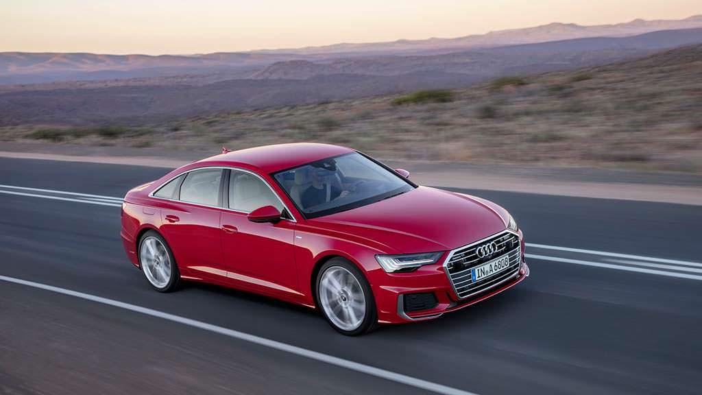 Новая Audi A6. Цена от €58 050