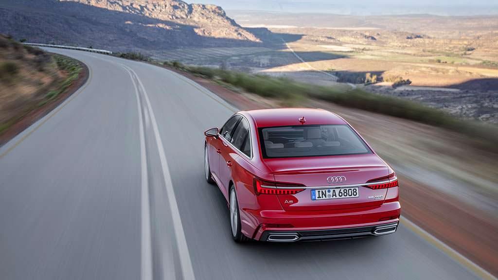 Гибридный седан Audi A6