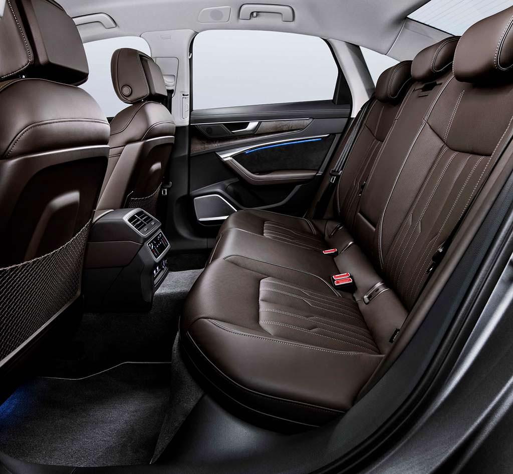 Интерьер Audi A6 нового поколения