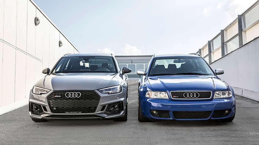 Путь эволюции Audi RS4 Avant B5 в Audi RS4 Avant B9