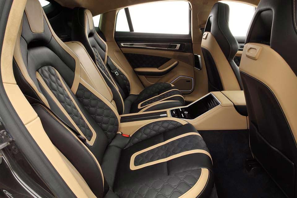 Фото салона Porsche Panamera Turbo S E-Hybrid от TopCar