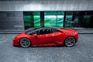 2018 Lamborghini Huracan Rosso Corsa