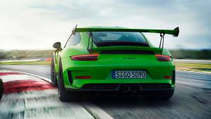 Новая Porsche 911 GT3 RS 2018 года