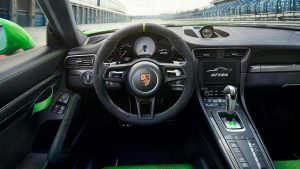 Фото внутри Porsche 911 GT3 RS 2018 года