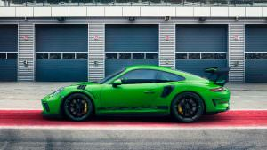 Трековый Porsche 911 GT3 RS
