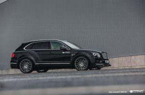 Чёрный Bentley Bentayga. Тюнинг от Prior Design