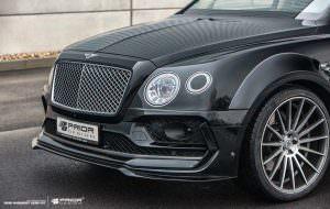 Передний спойлер Bentley Bentayga PDXR от Prior Design