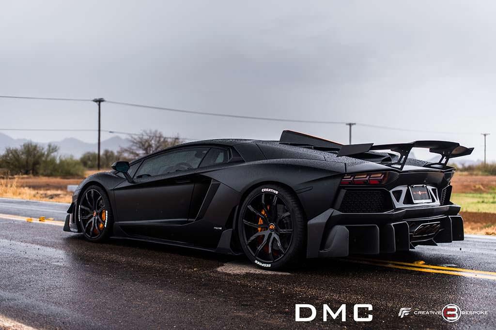 Чёрный Lamborghini Aventador Edizione-GT Las Americas от DMC
