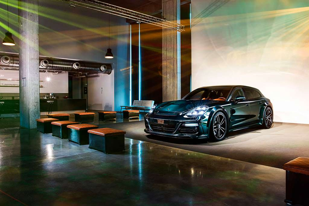 Тюнинг Porsche Panamera Sport Turismo от TechArt
