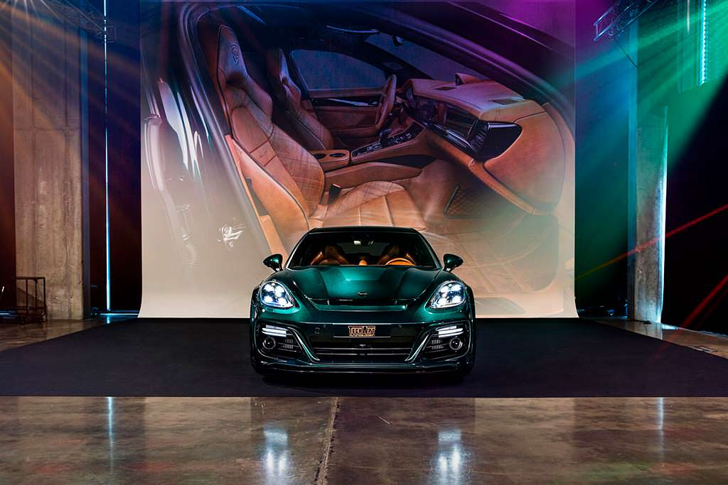Новая Porsche Panamera Sport Turismo GrandGT от TechArt