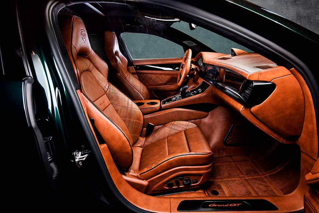Фото салона Porsche Panamera Sport Turismo GrandGT от TechArt