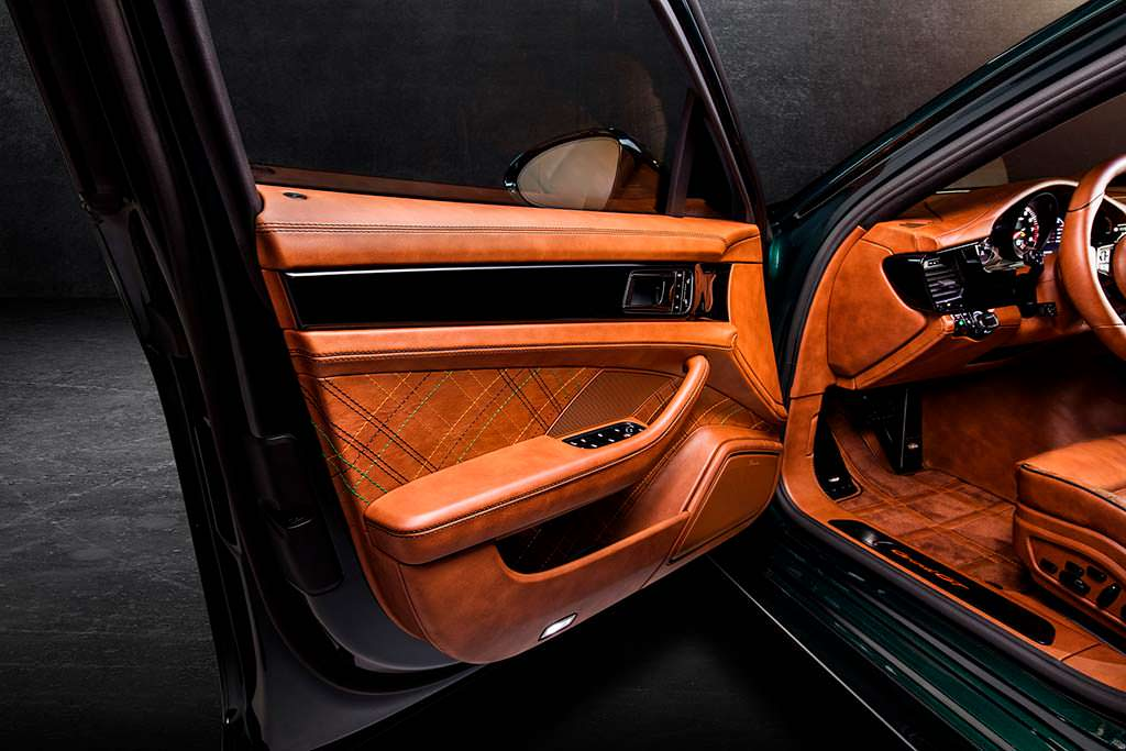 Фото внутри Porsche Panamera Sport Turismo GrandGT от TechArt