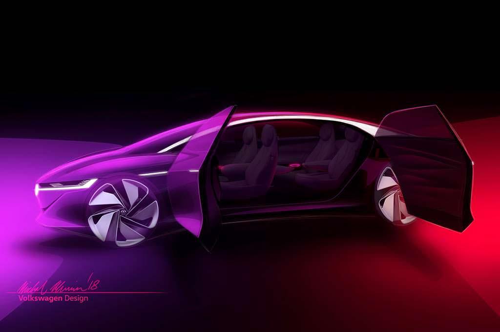 Фастбэк Volkswagen ID Vizzion Concept