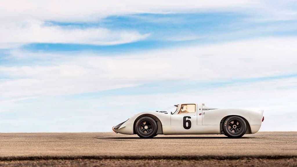 Классический гоночный Porsche 908 K 1968 года выпуска