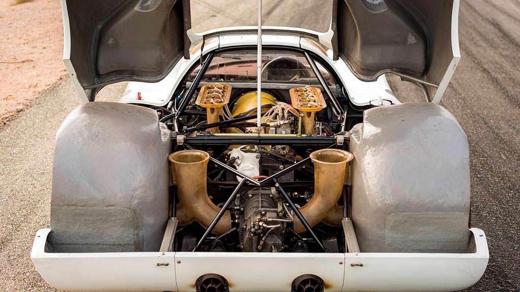 Моторный отсек Porsche 908 K 1968 года выпуска