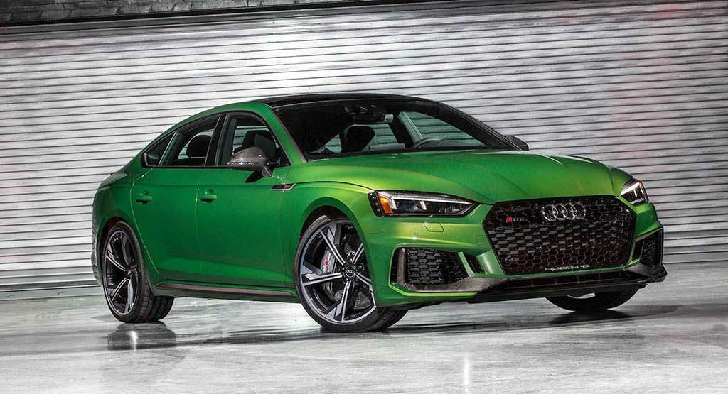 Новая Audi RS5 Sportback