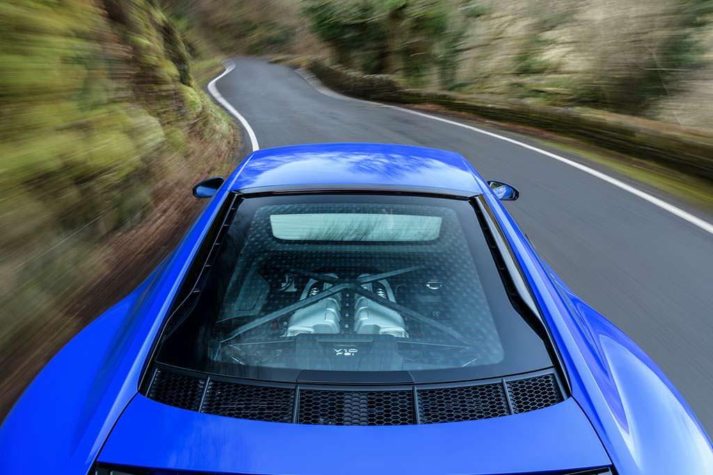 Audi R8 V10 RWS Limited Edition. Атмосферный двигатель V10