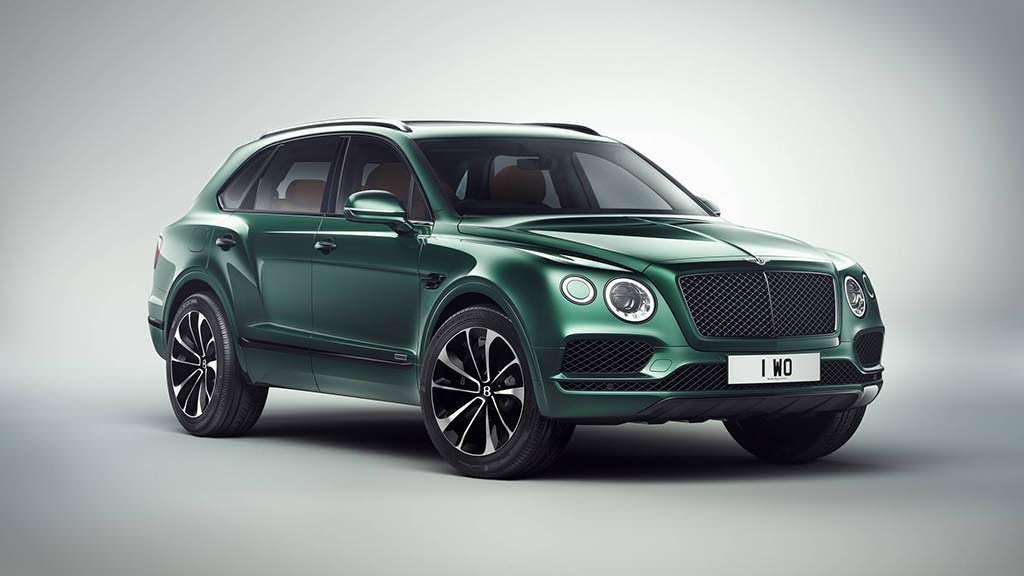 1 из 1 Bentley Bentayga by Mulliner