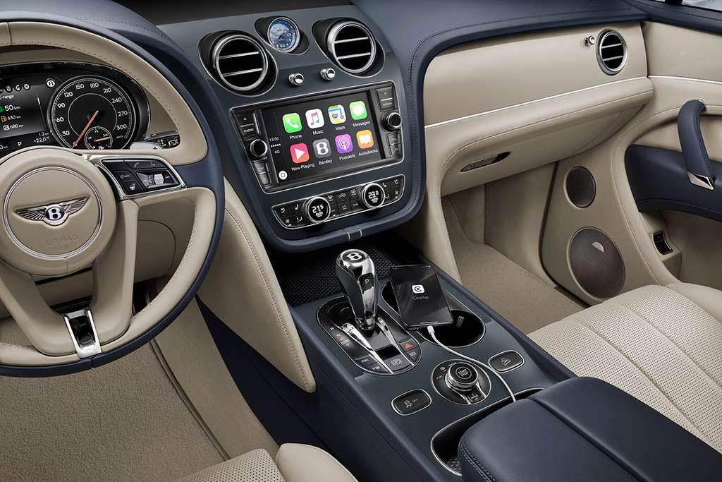 Интерьер Bentley Bentayga Hybrid