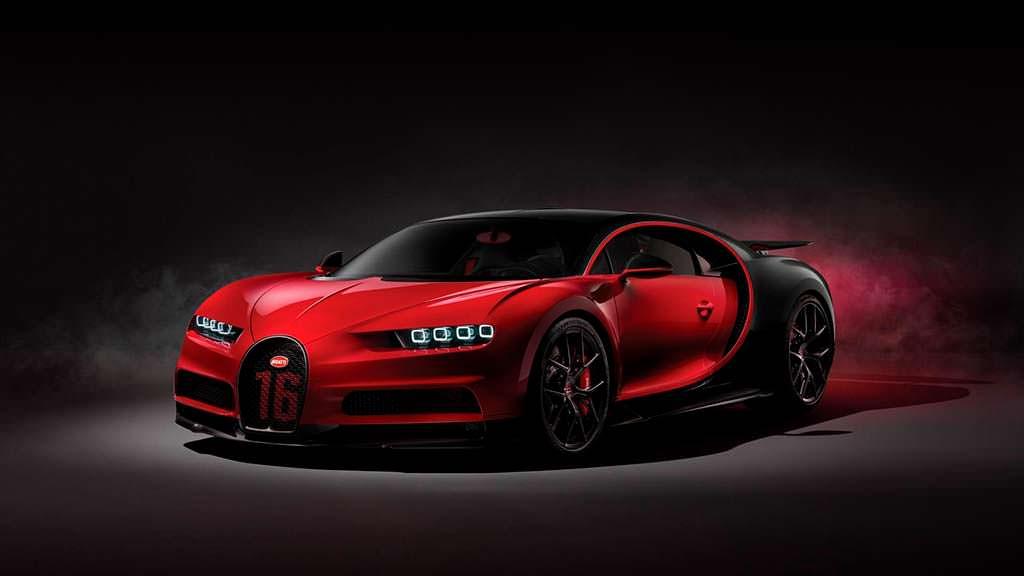 Новый Bugatti Chiron Sport