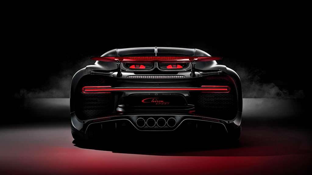 Самый быстрый Bugatti Chiron Sport