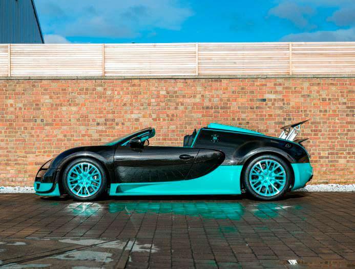 Bugatti Veyron Tiffany Edition 1 из 1