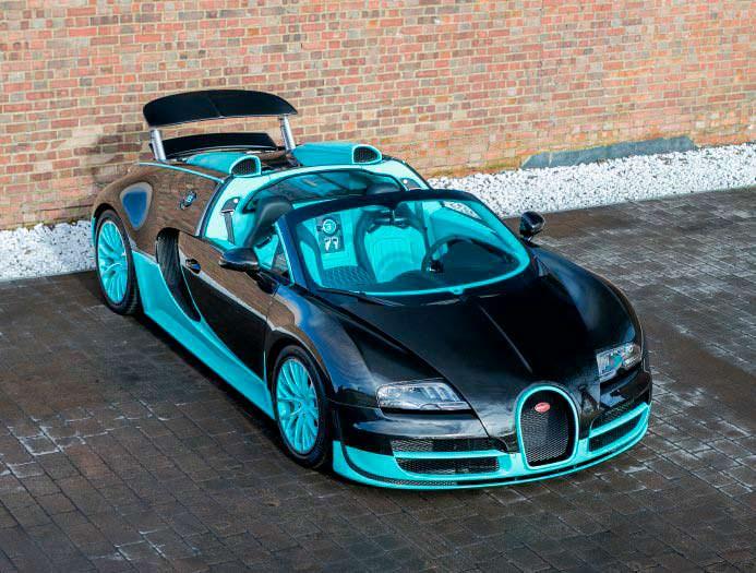 Эксклюзивная Bugatti Veyron Tiffany Edition