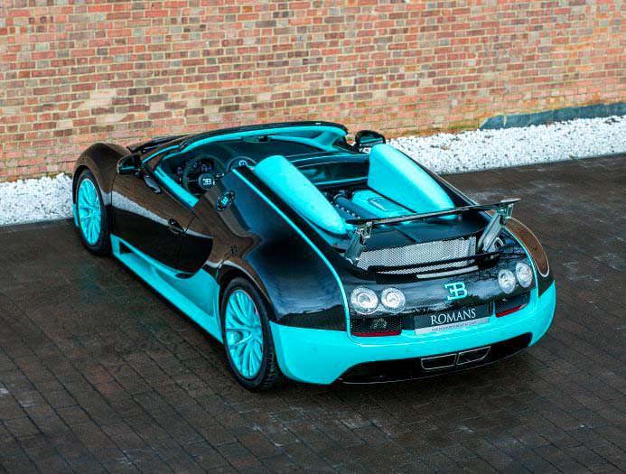 Коллекционный Bugatti Veyron Tiffany Edition