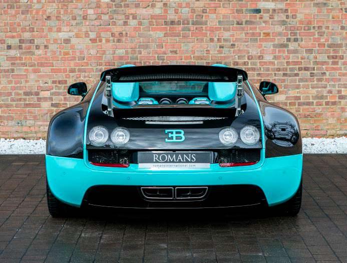 Bugatti Veyron Tiffany Edition из Grand Sport Vitesse