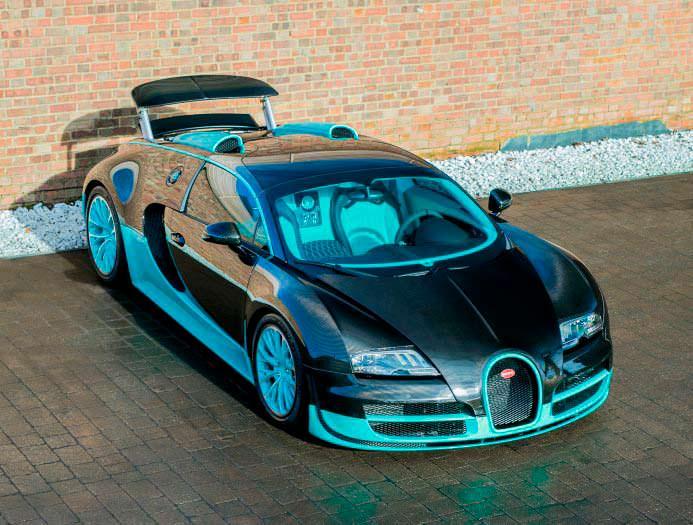 Фото Bugatti Veyron Tiffany Edition