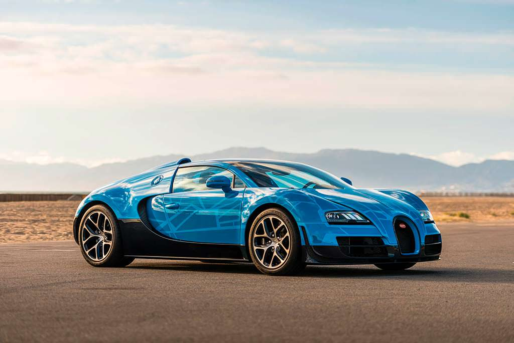 Bugatti Veyron Transformers