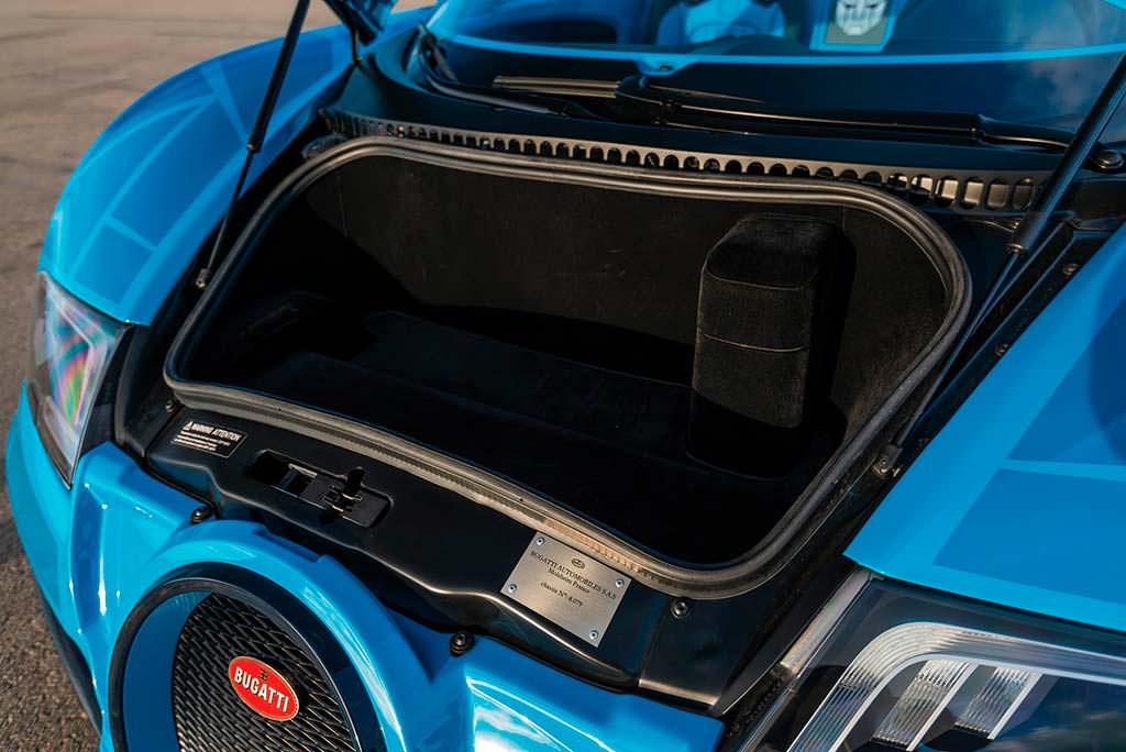 Багажник Bugatti Veyron Roadster