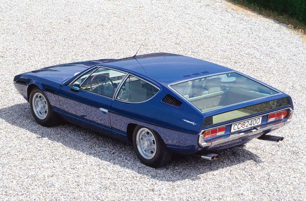 Классическая Lamborghini Espada S3 1973 года выпуска