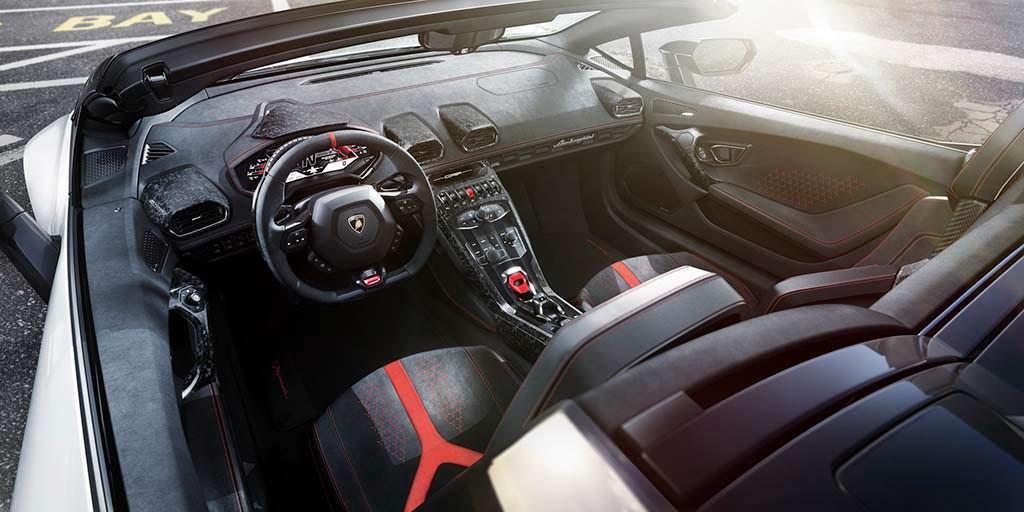 Фото внутри Lamborghini Huracan Performante Spyder