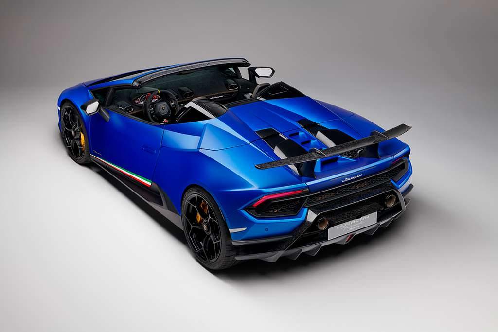 Родстер Lamborghini Huracan Performante Spyder