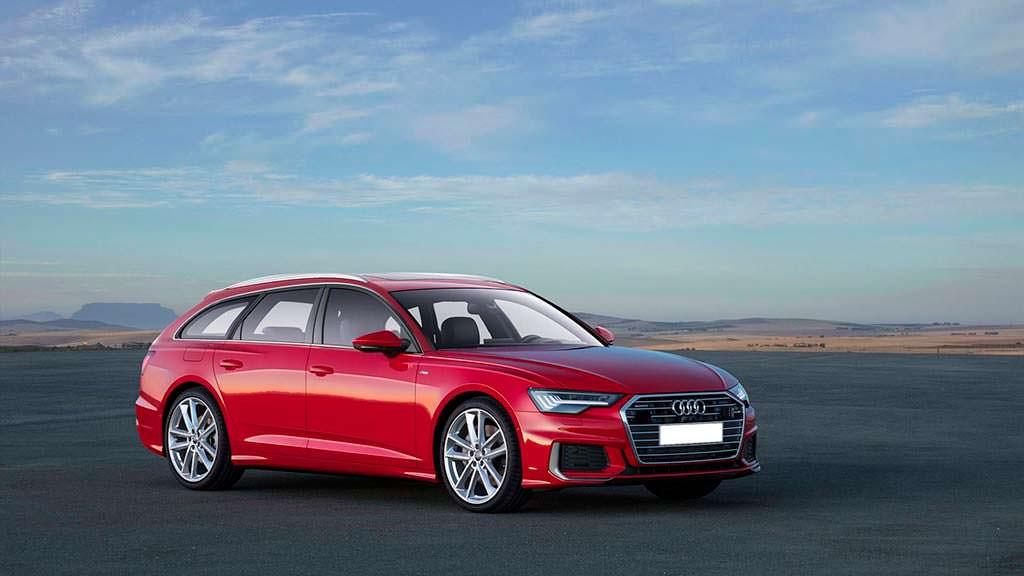 Новый универсал Audi A6 Avant 2019. Рендер Клебера Сильвы