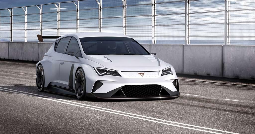 Гоночный электромобиль Cupra e-Racer