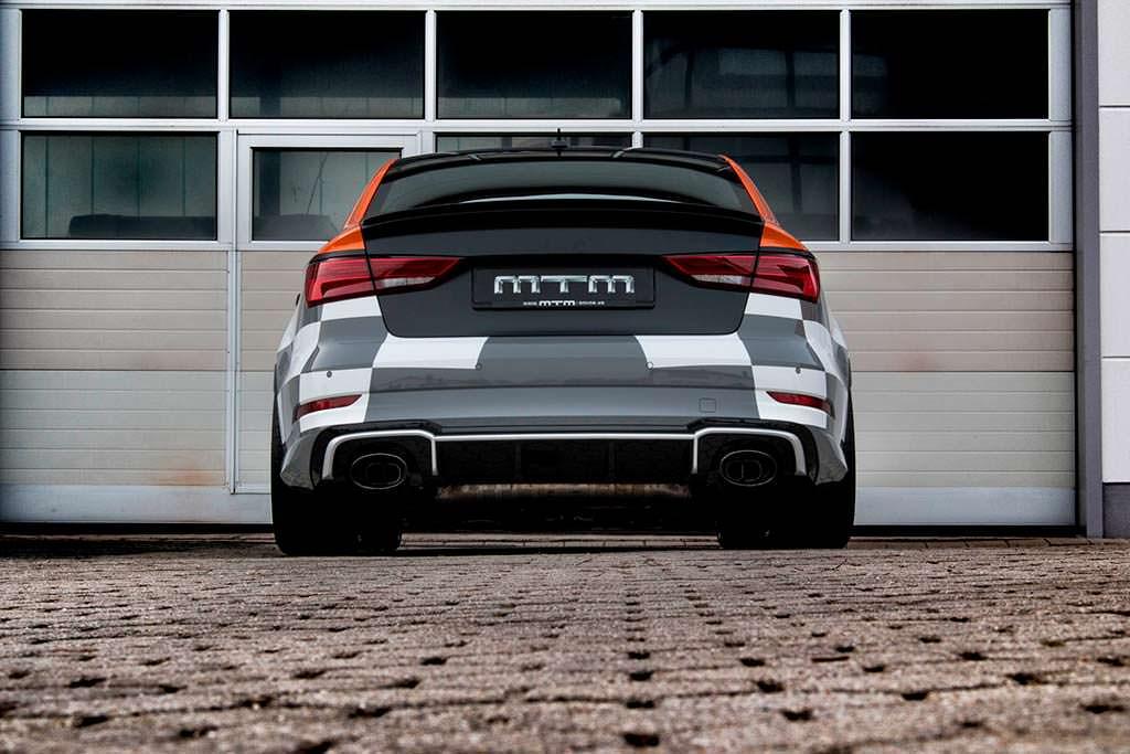 Новая выхлопная система Audi RS3 R Sedan от MTM