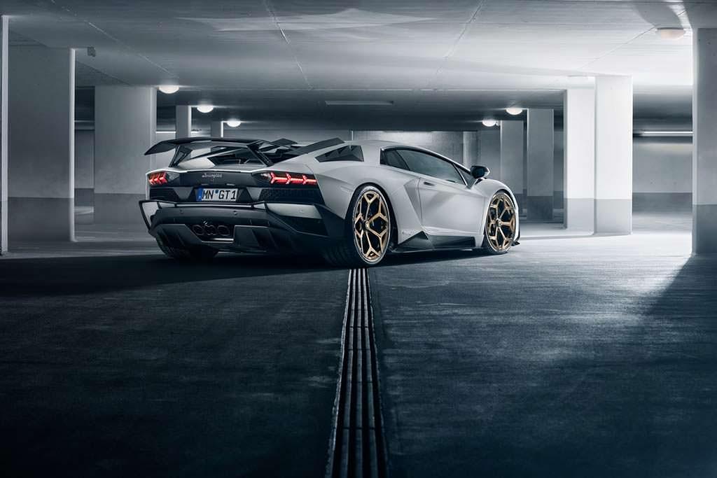 Новый Lamborghini Aventador S. Тюнинг от Novitec