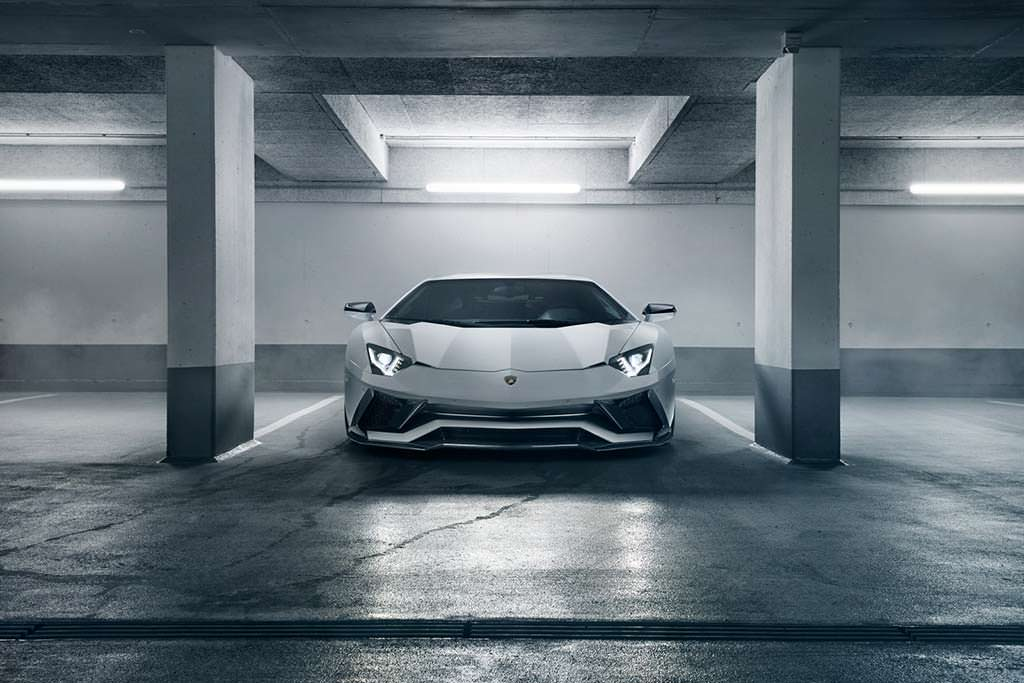 Новая Lamborghini Aventador S от Novitec