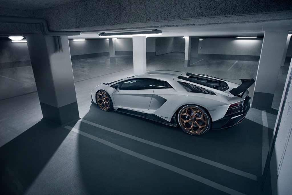 Novitec Lamborghini Aventador S. Сниженный клиренс на 30 мм